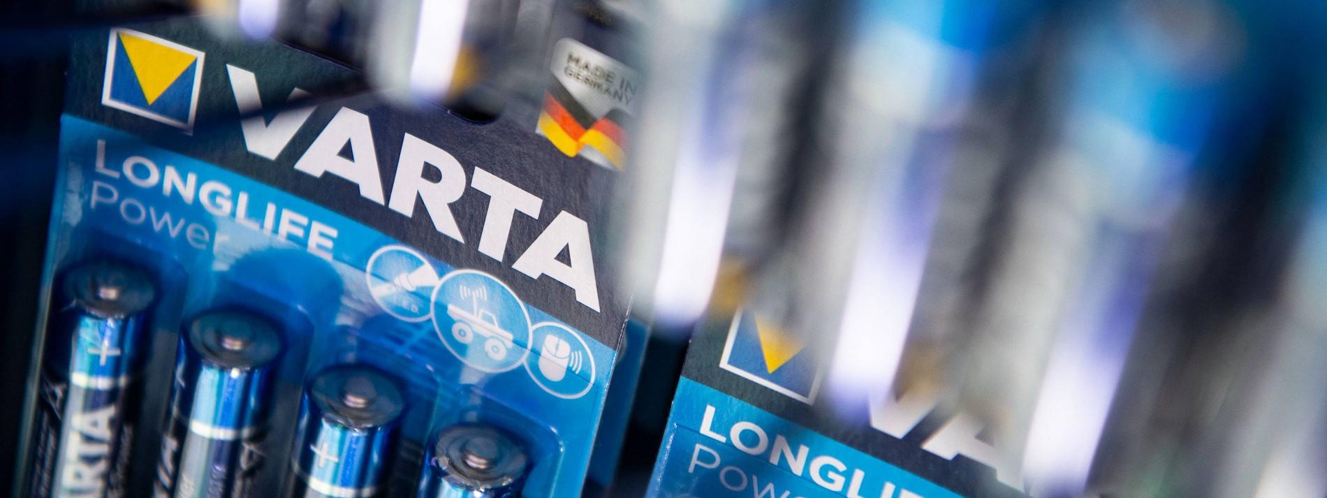 Was Varta mit einer neuen Fabrik für Batteriezellen vorhat