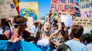 Haben sie bald mehr zu sagen? Demonstranten der Bewegung Fridays for Future in Aachen.