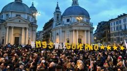 Italienische Überlegungen zu Schuldenerlass beunruhigen die Märkte