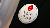 Britische Notenbank warnt vor schweren Brexit-Folgen