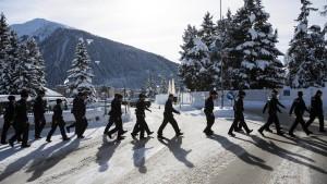 Im Orient-Express nach Davos