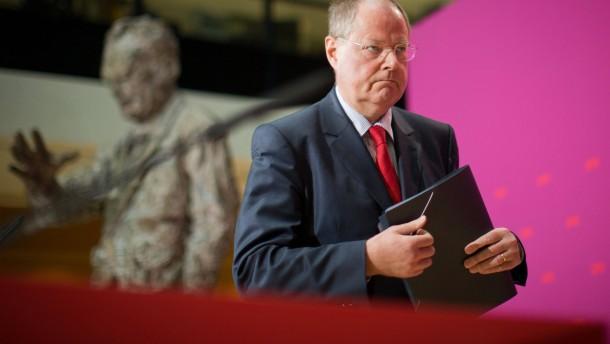 PK Steinbrück zu Nebeneinkünften