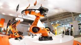 China lässt deutsche Roboter-Hersteller jubeln