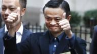 Alibaba-Aktien steigen beim Börsendebüt mehr als 36 Prozent