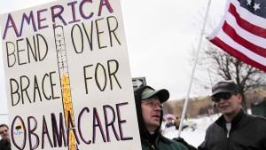 Tausende schließen Obamas Krankenversicherung ab