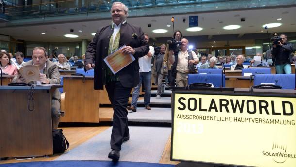 Hauptversammlung Solarworld