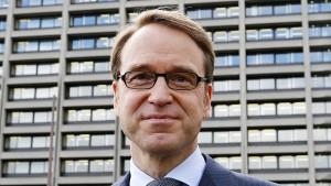 """Bundesbank-Präsident Weidmann: """"Vorsorge ist notwendig"""""""