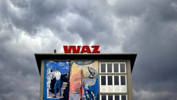 WAZ-Zentrale in Essen: Bald in der Hand von Petra Grotkamp