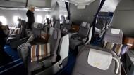 Ort des Geschehens: Das Innere eines Flugzeugrumpfes