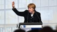 Merkel will für offene Märkte kämpfen