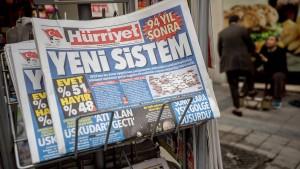 Erdogan-Freunde zahlen mehr als 1 Milliarde Dollar für Medien-Gruppe