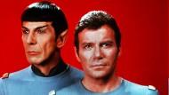 Im Mittelpunkt: Captain James T. Kirk und Spock - nicht etwa Scotty.