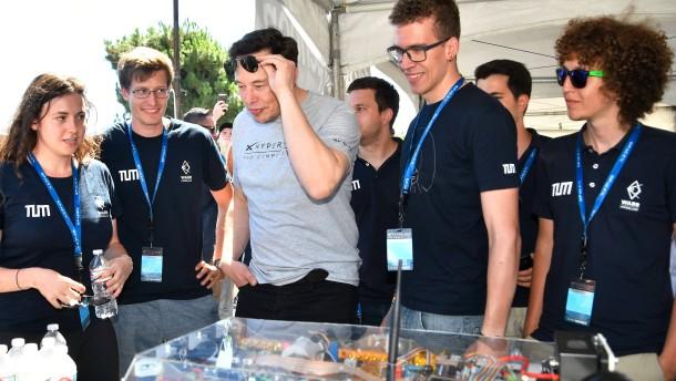 Diese deutschen Studenten beeindrucken Elon Musk