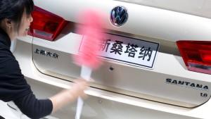 China geht gegen Automanager vor