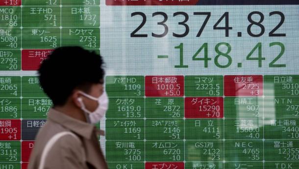 Verunsicherte Anleger