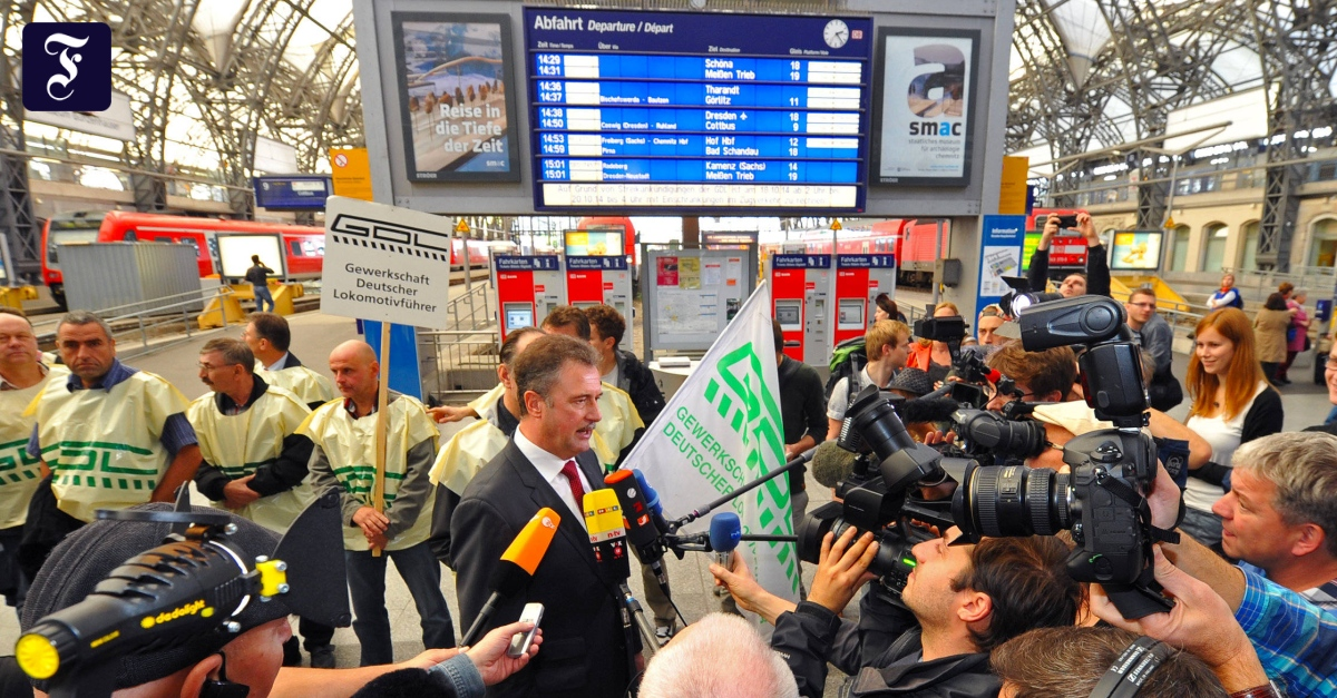 Bahnstreik Gdl Aktuell