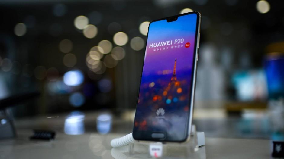 Hat sich auf Platz zwei geschoben – vor Apple: Der chinesische Hersteller Huawei macht immer bessere Geschäfte.