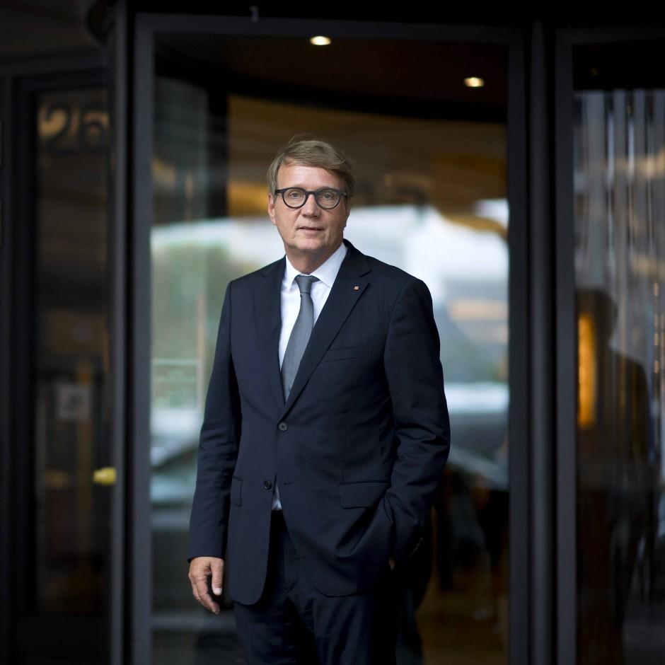 Überall involviert: Ronald Pofalla, zuständig für die Infrastruktur im Vorstand der Deutschen Bahn.