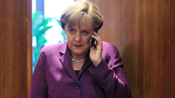 Amerika hat das Handy der Kanzlerin abgehört