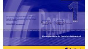 Postbank-Aktie kostet 28,50 Euro