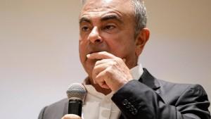 Carlos Ghosn muss fünf Millionen Euro zurückzahlen