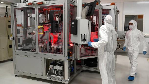 VW beginnt Batteriezell-Produktion