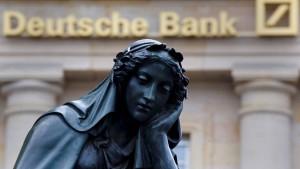 Wir sehen die Bank auf völlig richtigem Weg