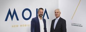 """""""Wir wollen mit Moia beweisen, dass innovative Mobilitätslösungen auch außerhalb des Silicon Valleys möglich sind"""", sagte """"Moia""""-Chef Ole Harms."""