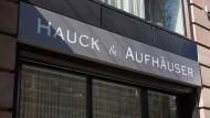 Eine Hauck & Aufhäuser-Filiale in der Frankfurter Innenstadt