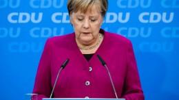 Merkel: Entscheidung nun in einer Woche