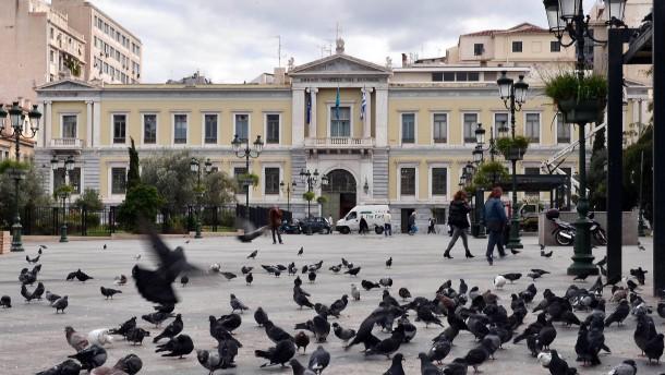 Griechische Banken brauchen bis zu 14 Milliarden Euro