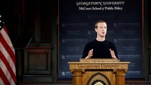 Facebook verteidigt laschen Umgang mit Fakten in Politiker-Videos