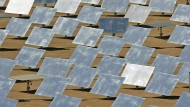 Eine Solarkraftanlage in Israel.