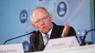 Schäuble zweifelt an Investitionslücke