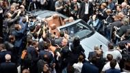 Männersache? Daimler-Chef Dieter Zetsche während der letzten IAA in einem S-Klasse Cabriolet.