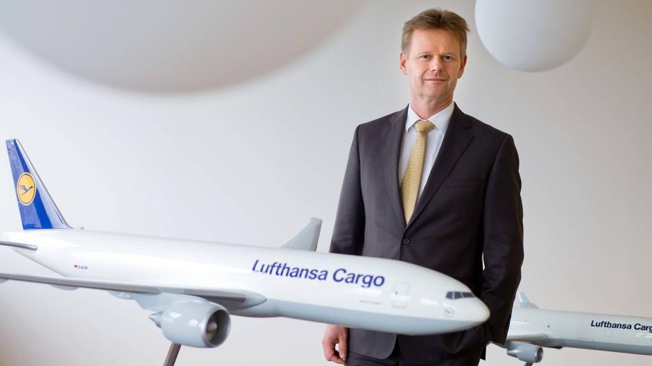 Peter Gerber, Präsident des Luftfahrtverbands BDL und Chef von Lufthansa Cargo