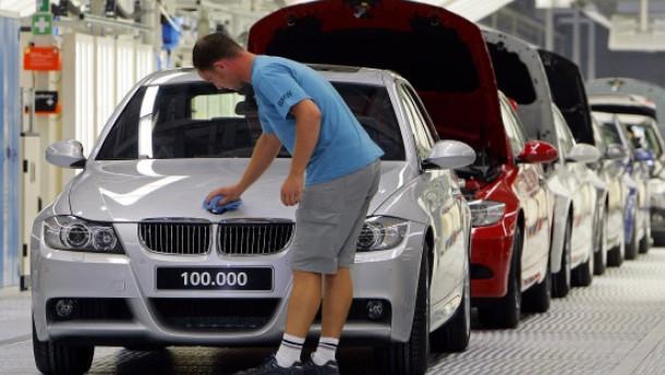 Nach Daimler kappt auch BMW Gewinnprognose