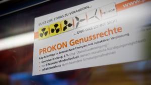 Verbraucherschützer gehen gegen Prokon vor