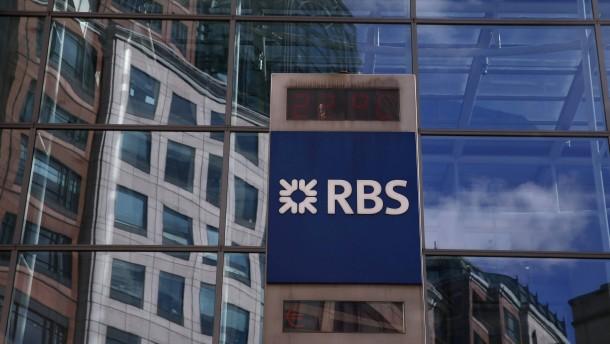 Britische Regierung verkauft Bank-Anteile mit Verlust