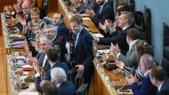 Paul Magnette hat gut lachen: Das wallonische Parlament hat Ceta zugestimmt.