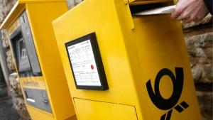 Post fordert noch höheres Briefporto
