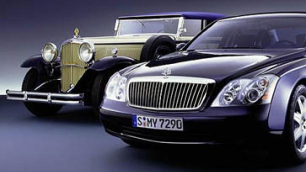 Wettlauf der Luxuslimousinen