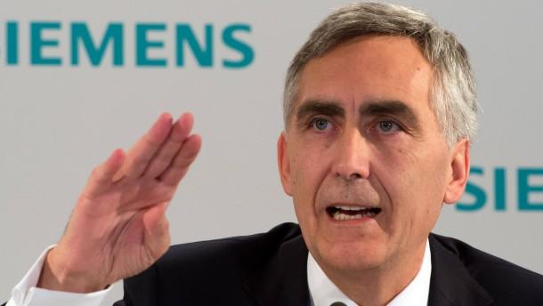 Siemens verabschiedet Löscher mit 17 Millionen Euro