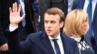 Macron forderte bereits als Wirtschaftsminister die Einführung von Eurobonds.
