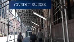 Milliardenverluste für die Credit Suisse