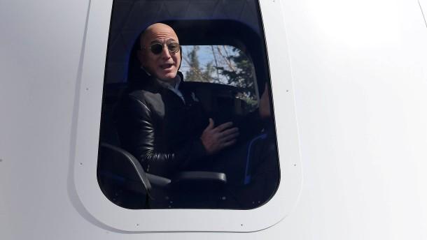 Jeff Bezos: Eines Tages leben 1 Billion Menschen in unserem Sonnensystem