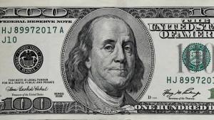 Amerika diskutiert den 100-Dollar-Schein
