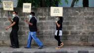 Am 30. Mai 2015 haben Menschen auf der ganzen Welt gegen das Rauchen demonstriert - auch im indischen Bangalore.