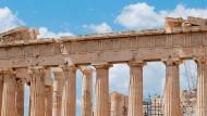 Baustelle: Griechenlands Banken kämpfen nach wie vor mit den Folgen der Finanzkrise.