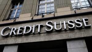Credit Suisse kürzt Manager-Boni deutlich